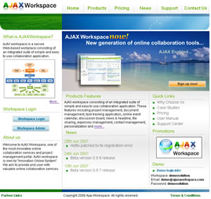 AjaxWorkspace Collaboration